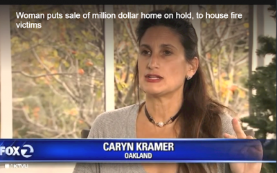 One Million offer put aside to help Wildfire victims Caryn Kramer, owner of Blue Wave Home Solutions,