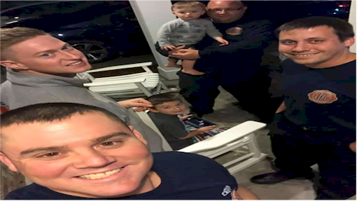 North Carolina firefighters become babysitters