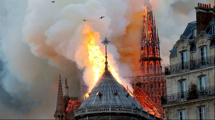 God bless Notre Dame: