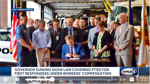 Gov. Chris Sununu  signs law covering PTSD for first responders
